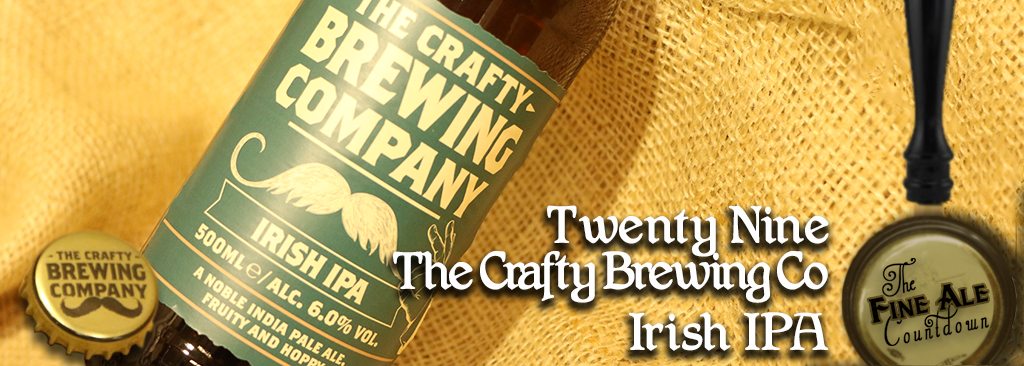 Ep  29 Crafty Brewing Company - Irish IPA