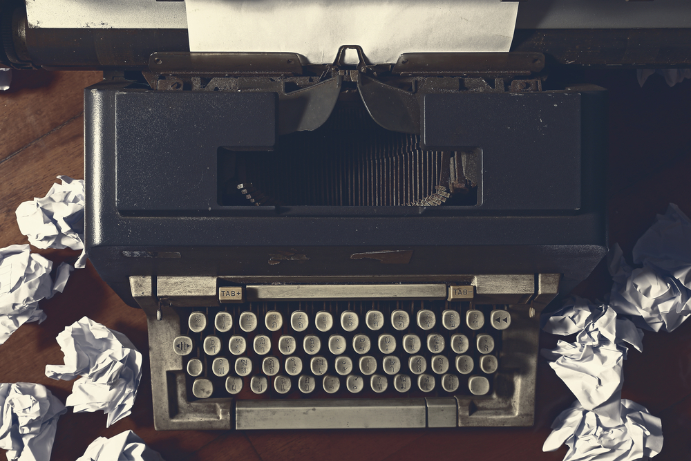 skrivemaskinen