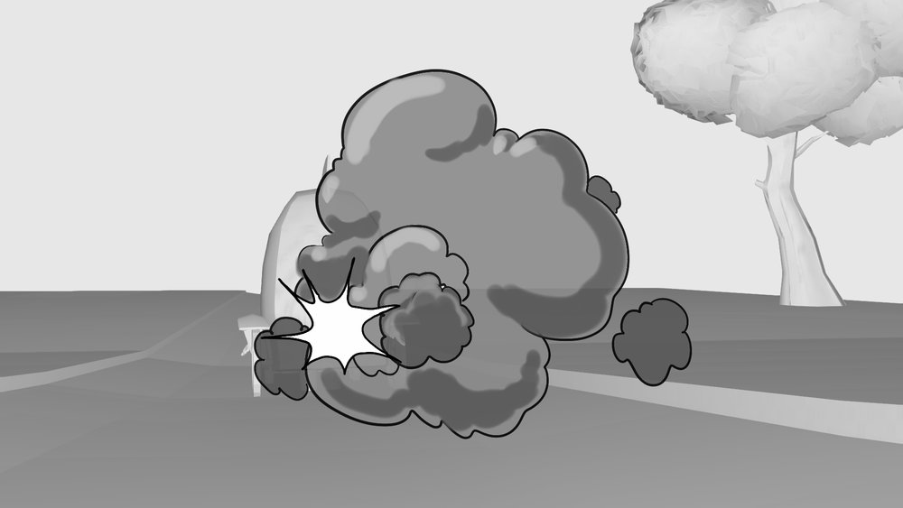 Cartoony smoke