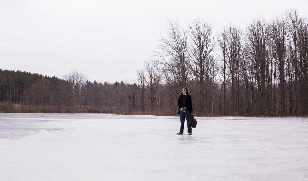 Josh on Ice