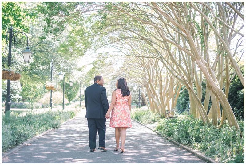 Lewis Ginter Botanical Gardens Engagement Eric and Sandy (6).jpg
