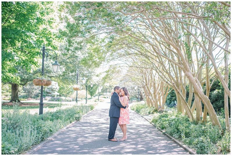 Lewis Ginter Botanical Gardens Engagement Eric and Sandy (8).jpg