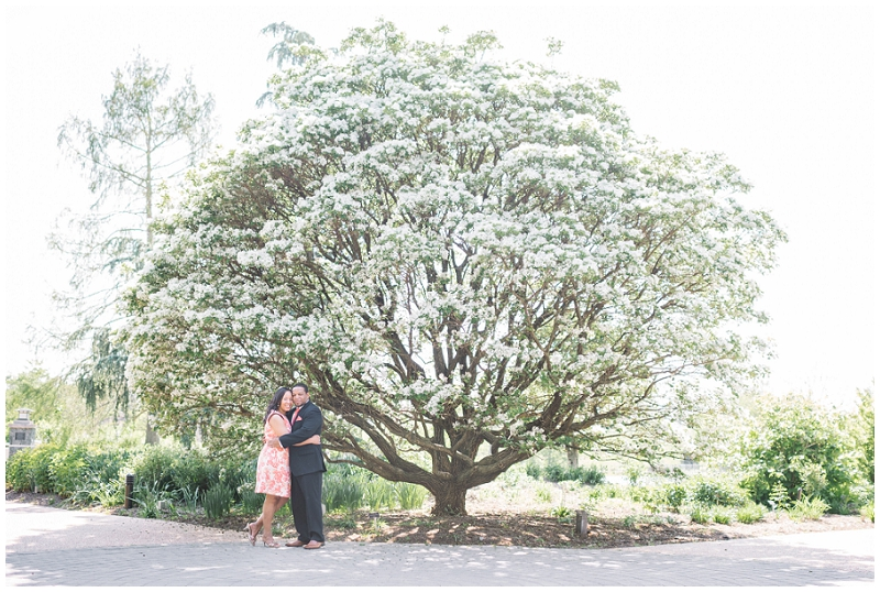 Lewis Ginter Botanical Gardens Engagement Eric and Sandy (15).jpg