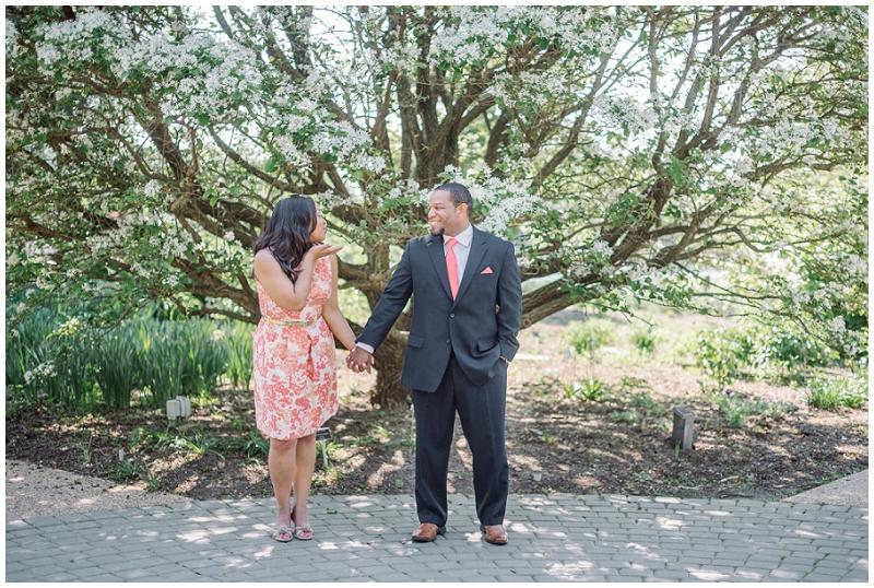 Lewis Ginter Botanical Gardens Engagement Eric and Sandy (20).jpg