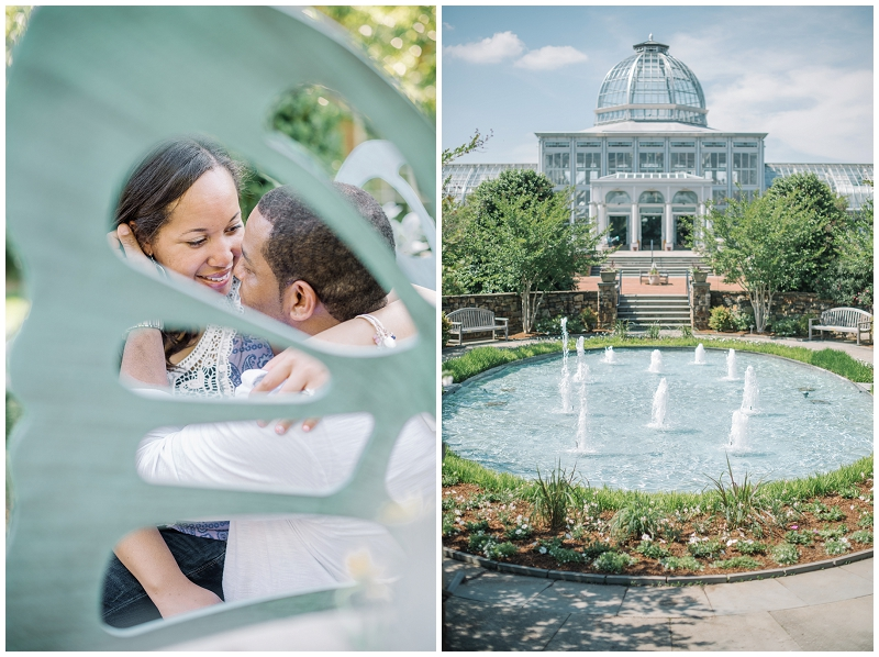 Lewis Ginter Botanical Gardens Engagement Eric and Sandy (45).jpg