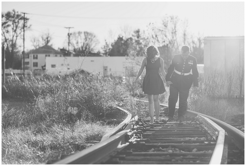 Vintage Military Train and Swing Engagement Photos Rocky Mount VA (4).jpg