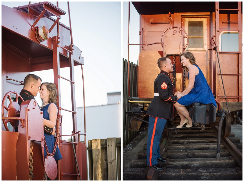 Vintage Military Train and Swing Engagement Photos Rocky Mount VA (8).jpg