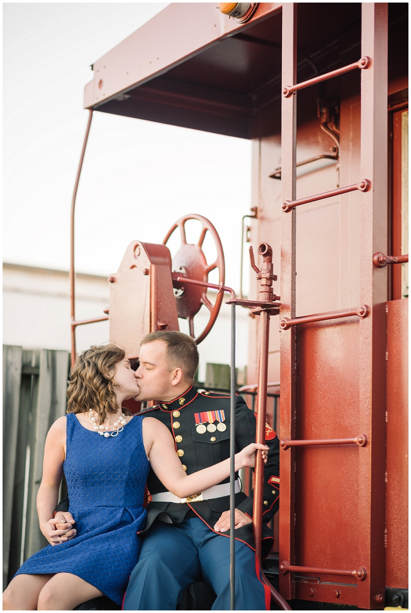Vintage Military Train and Swing Engagement Photos Rocky Mount VA (12).jpg