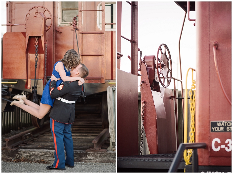 Vintage Military Train and Swing Engagement Photos Rocky Mount VA (14).jpg