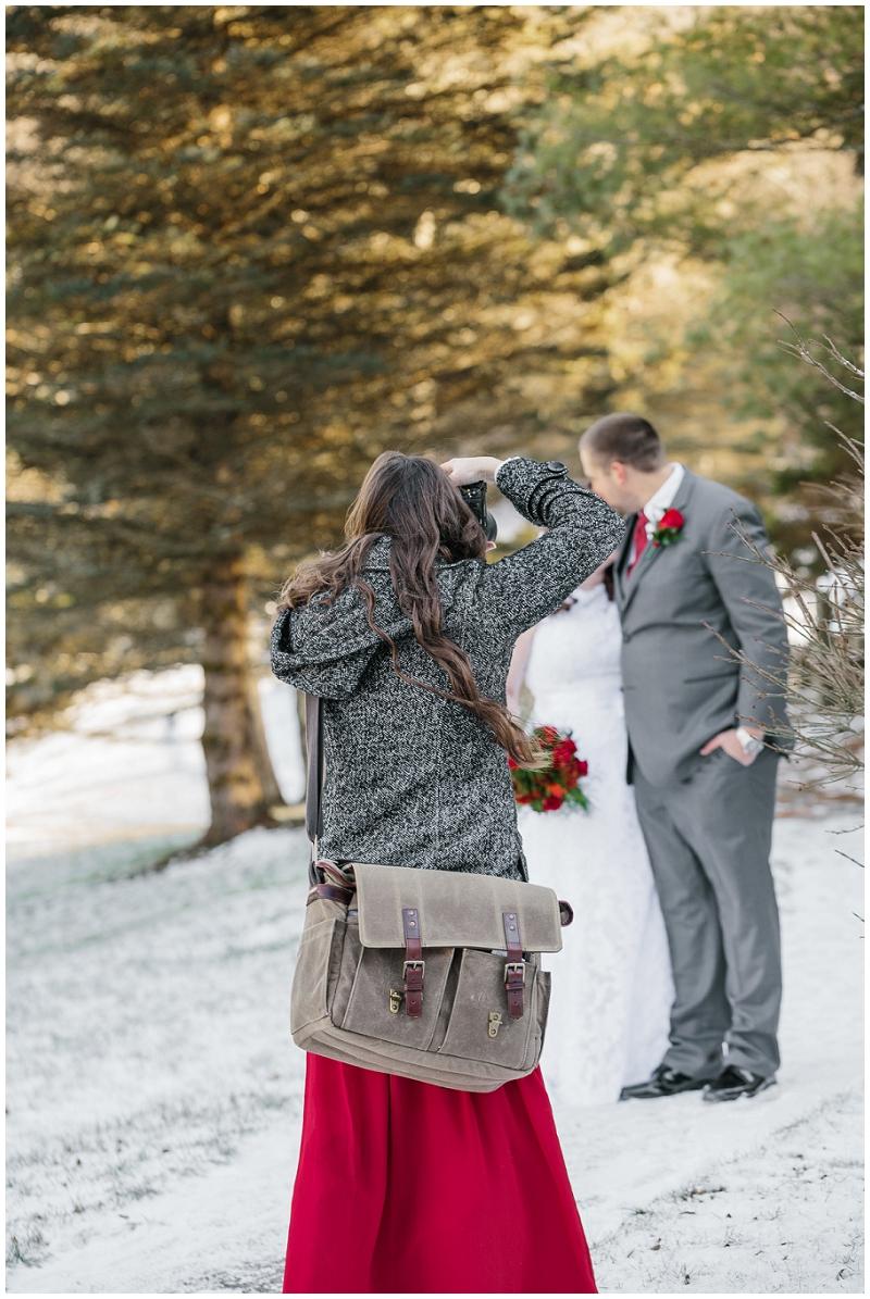 Snowy Christmas Winter Wedding Mountain Lake Lodge (25).jpg