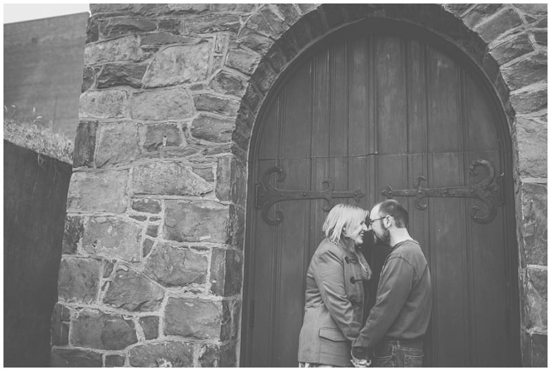 Downtown Lynchburg Winter Engagement Photo (16).jpg