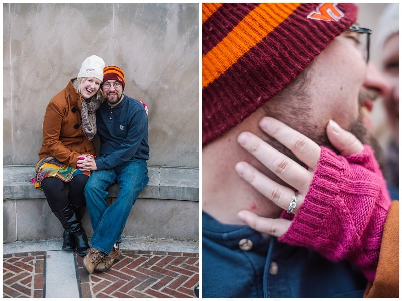 Downtown Lynchburg Winter Engagement Photo (28).jpg