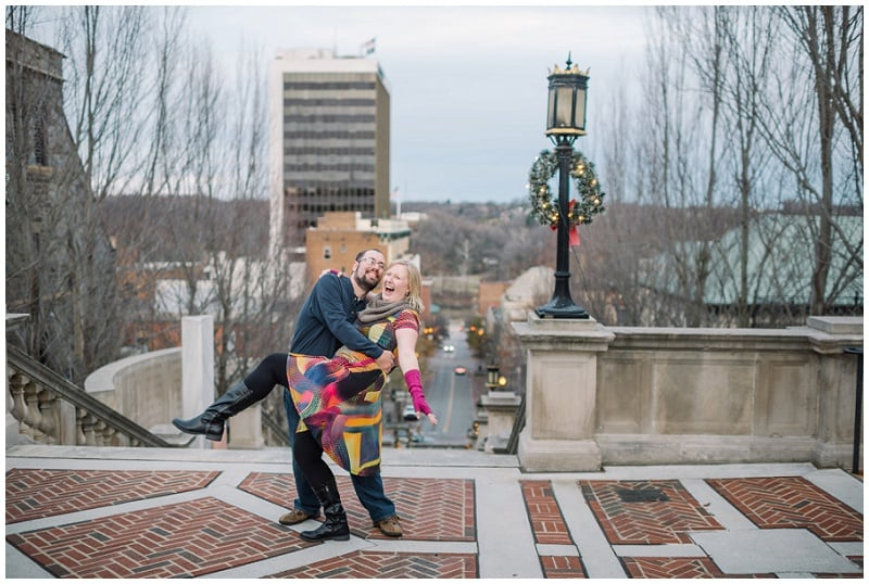 Downtown Lynchburg Winter Engagement Photo (29).jpg
