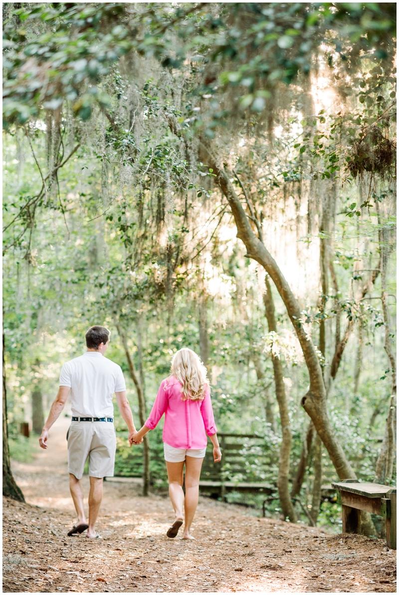 Romantic Engagment Photos | Virginia Beach | Spanish Moss