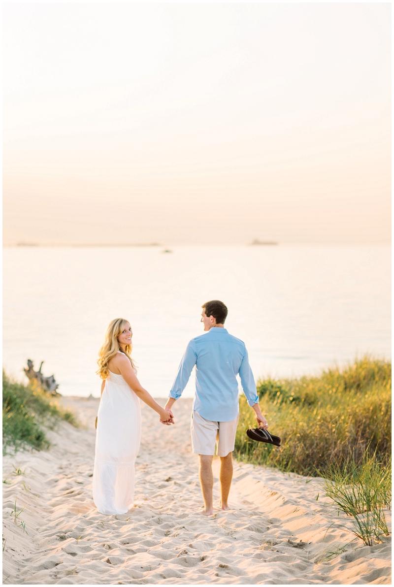 Romantic Beach Engagements |First Landing State Park| Virginia Beach