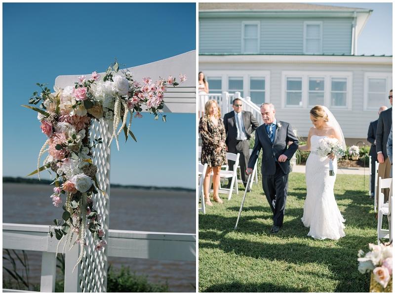 Planter's Club Suffolk VA Gold and Blush Wedding (28).jpg