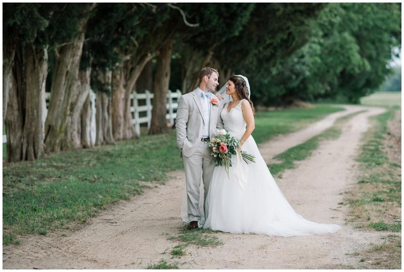 Bride and Groom Photo | Plantation Wedding | Posing for Wedding Couple