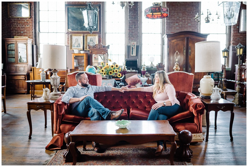 Louisville Downtown Engagement Photos at Joe Ley Antiques (16).jpg