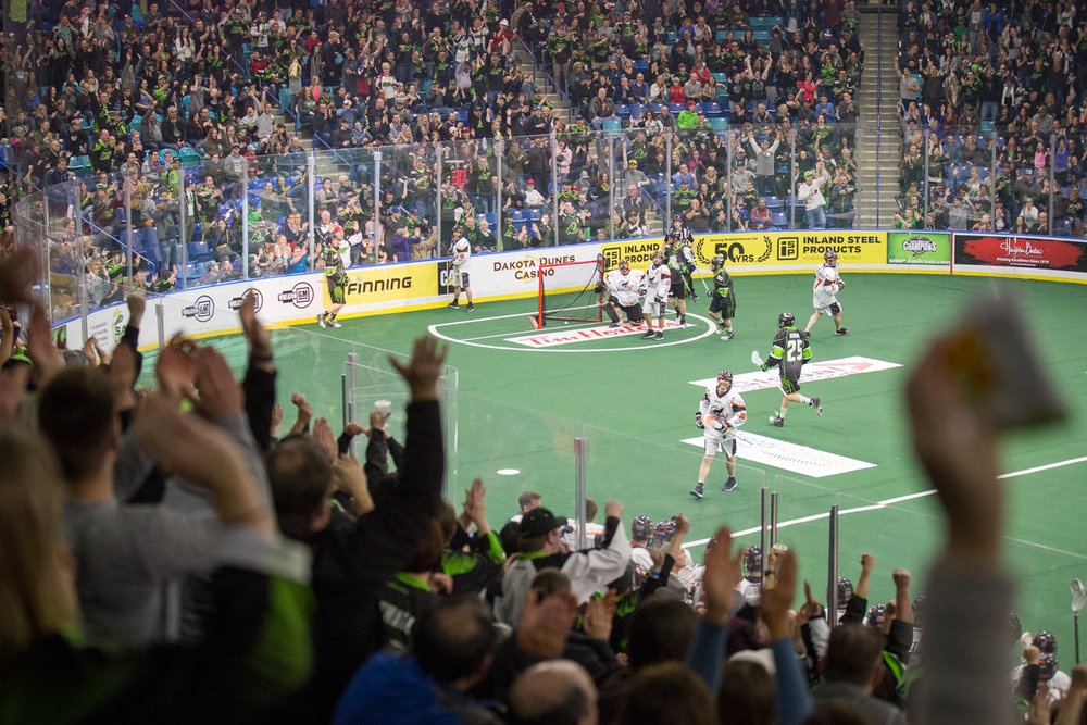 Both Rush and the Black Wolves came back in full force after half, but Rush secured a 10-8 advantage entering the final quarter.