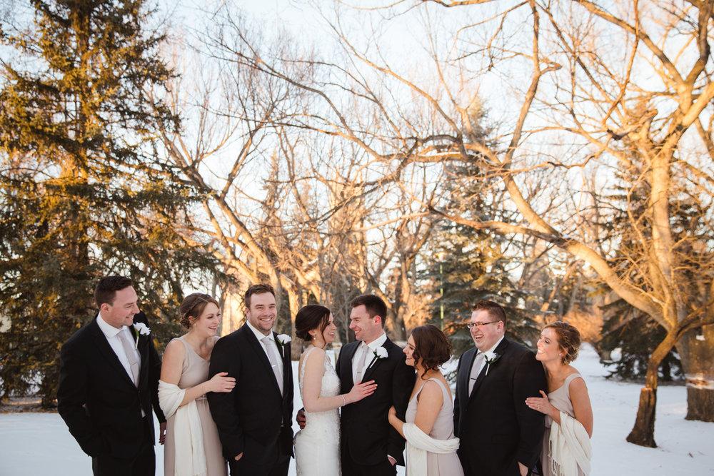 Rachel and Brennan's Moose Jaw Winter Wedding - February 10View Blog