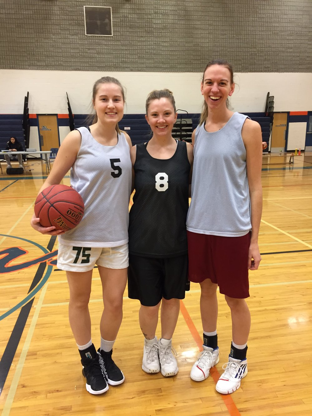 Sunday Basketball Games with Amber and Danielle - February 25