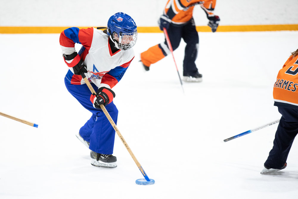 Photographing Ringette Westerns for Get My Photo - March 24