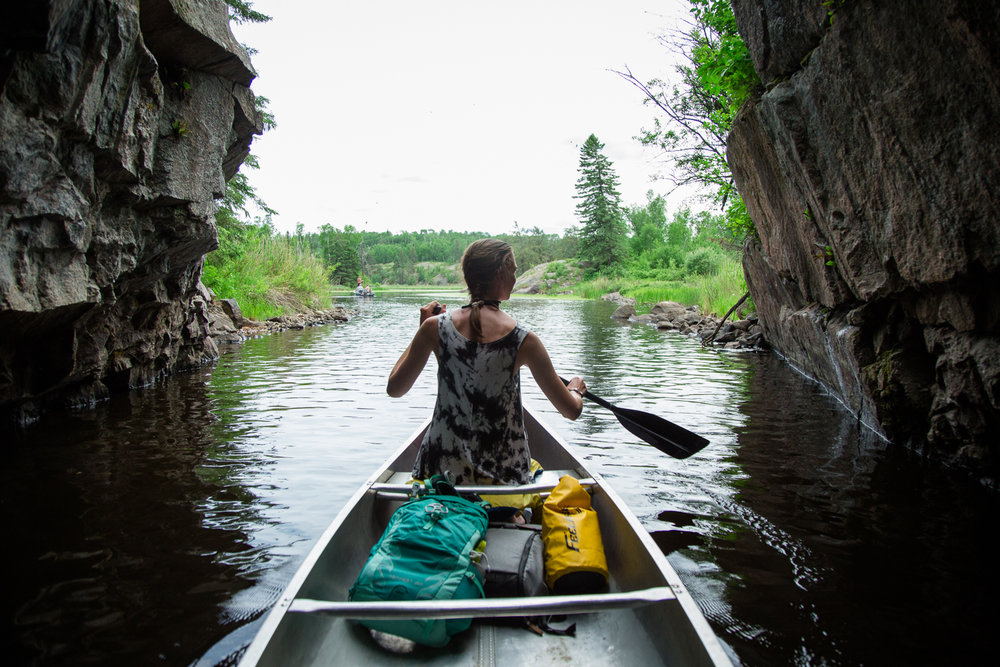 Canoeing on Caddy Lake in Whiteshell Provincial Park - June 16View Blog