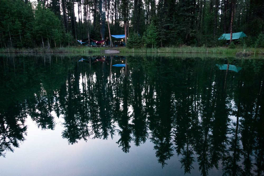 Camping at Gem Lakes in Narrow Hills Provincial Park with Brooklyn and Carson - June 24View Blog
