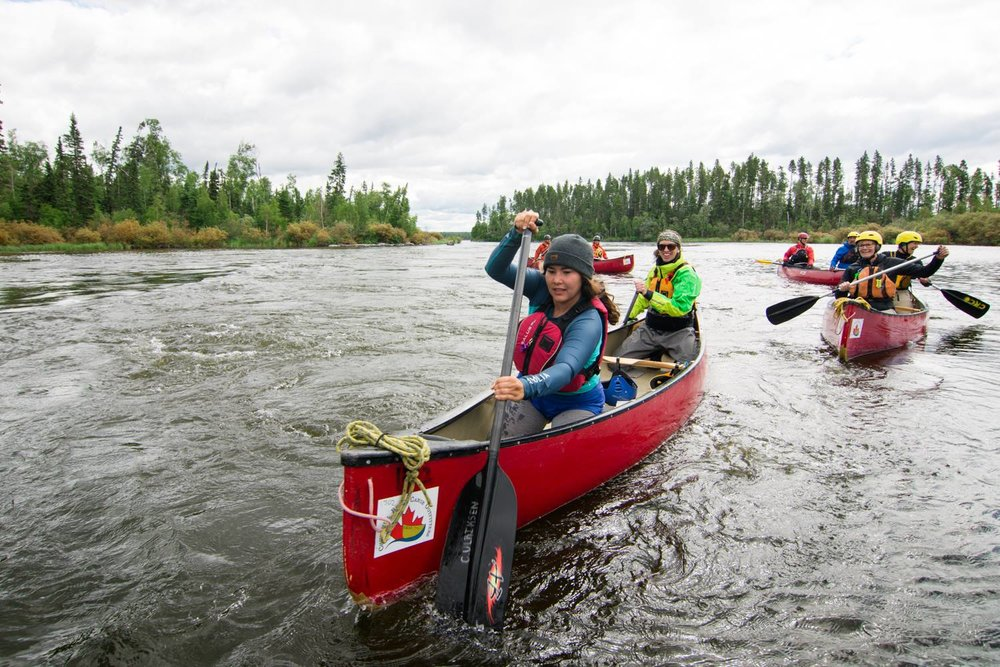 Intro to Moving Water Tandem Canoe Clinic with Cheyenne - July 7