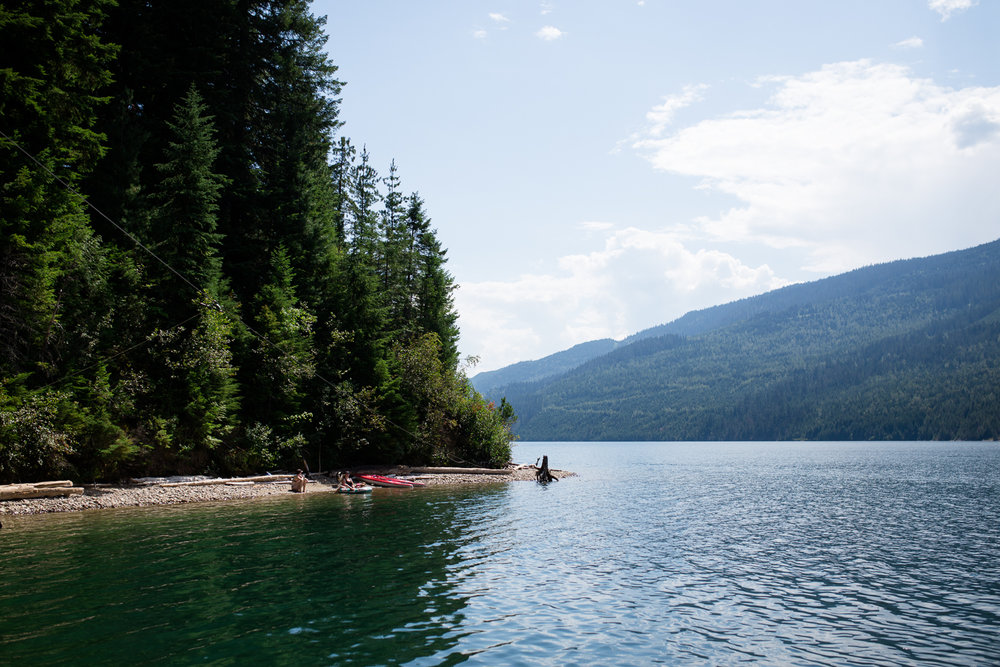 Afternoon at a beach in Revelstoke with Jyles, Dyllon, Nik, and friends. - August 5View Blog