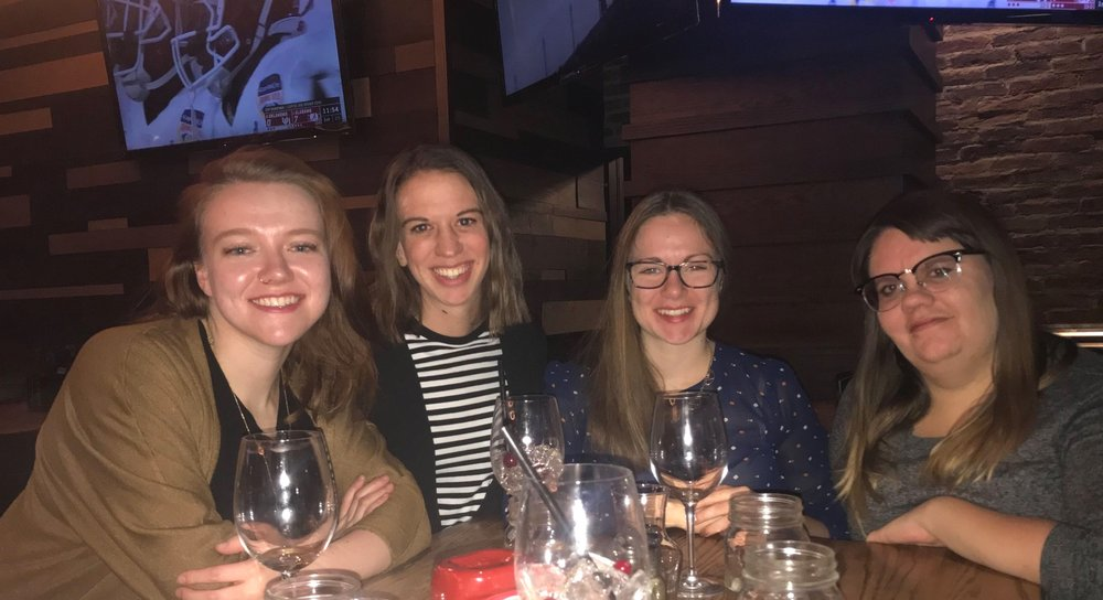 Girls night with Chloe, Kendra, and Steph - December 29