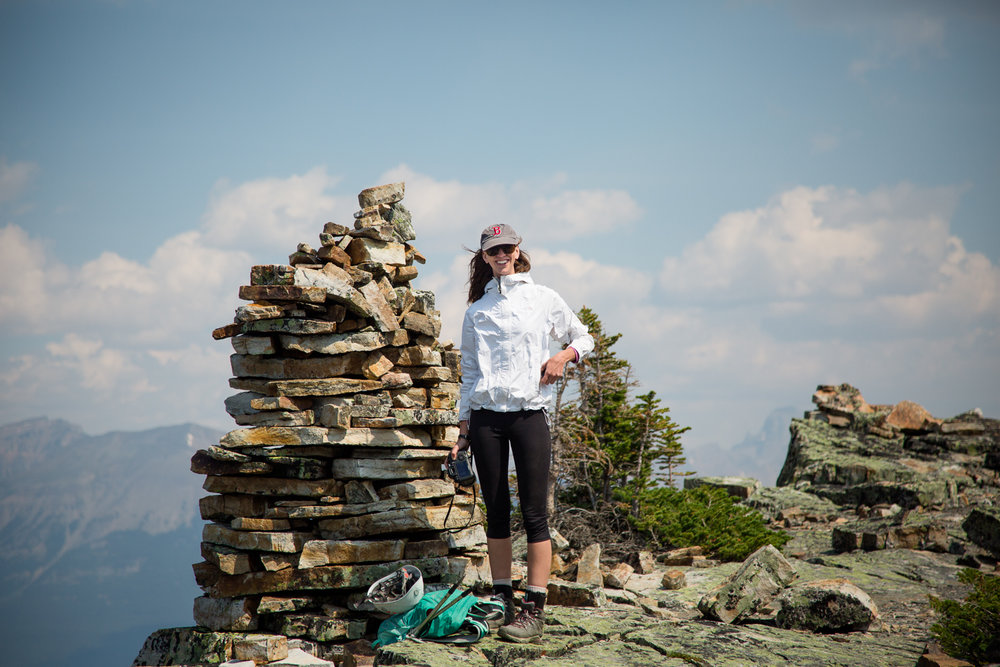 I think it took us close to three hours to summit. We stopped for a rest to enjoy the views, eat lunch, and snap some photos of the lake and surrounding peaks. -