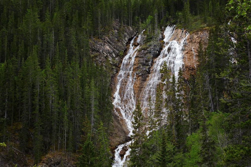 Grassi Lakes Falls, Canmore, Alberta.