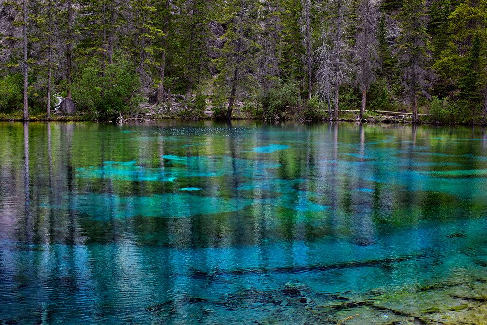 Grassi Lakes, Canmore, Alberta.