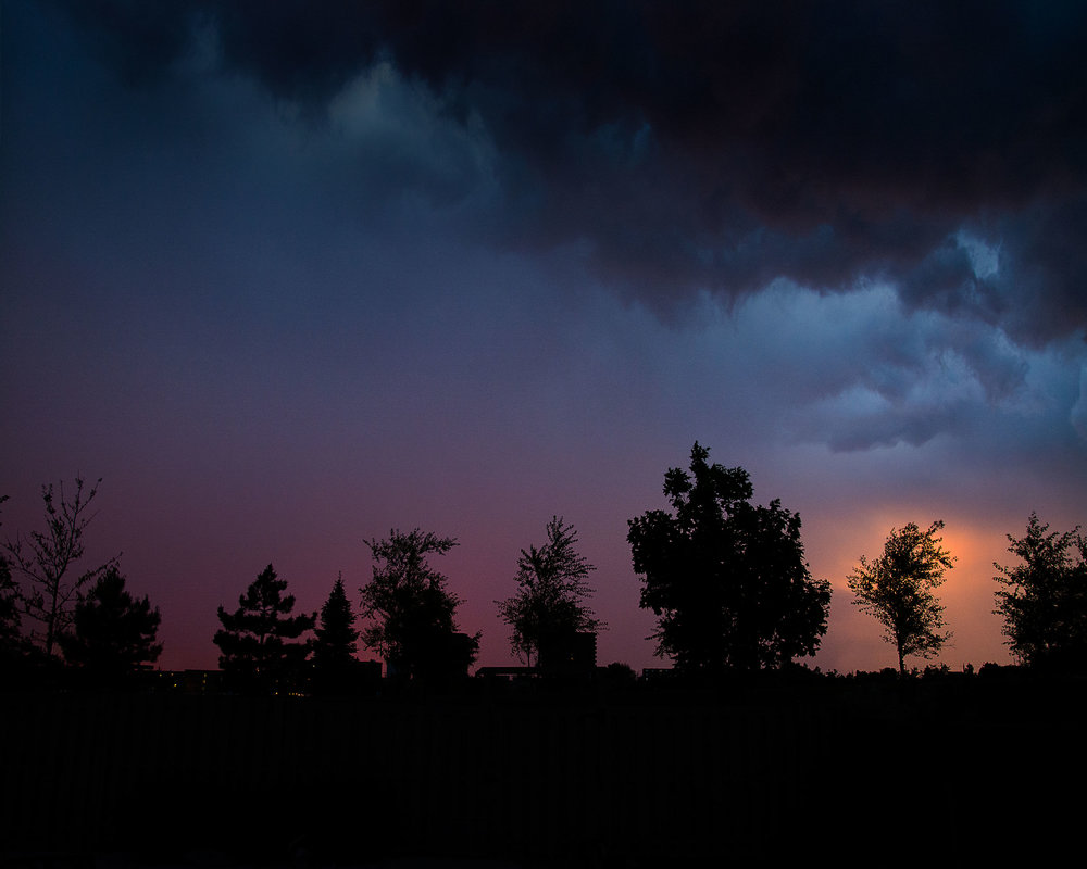 Sunset Storm over Ottawa, Ontario
