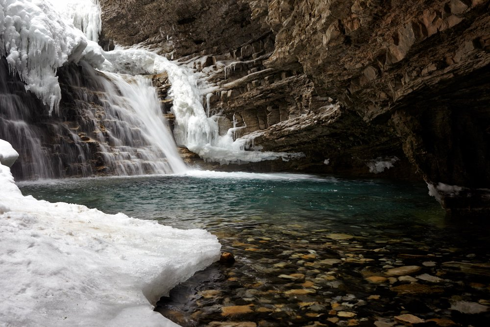 Johnson's Canyon, Banff National Park