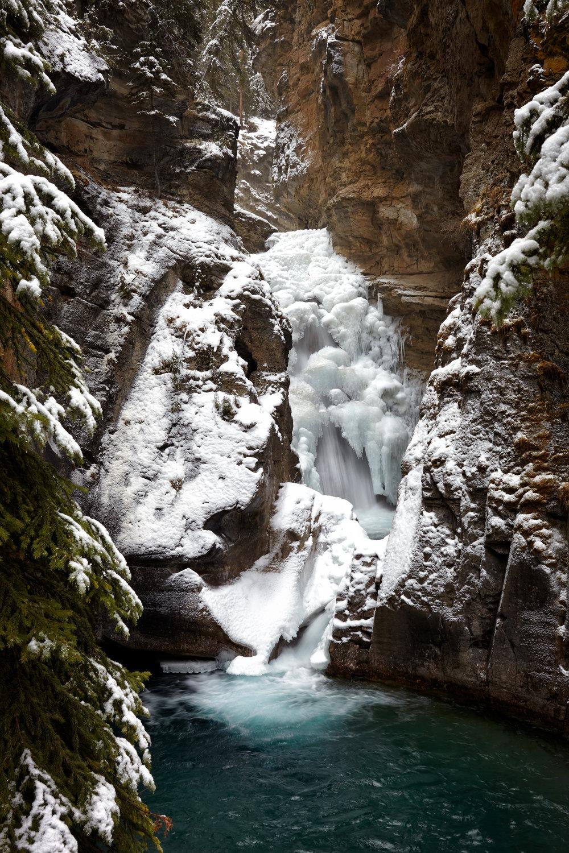Lower Falls, Johnston's Canyon, Banff