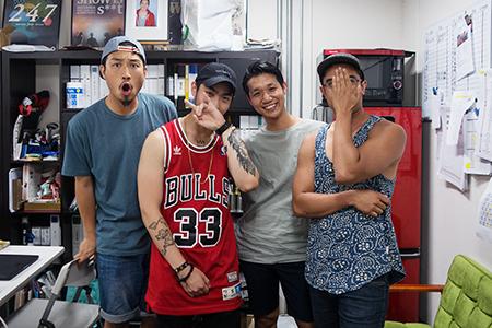 Hes, Yoni, Yusuke & Jino (En Dance Studio - Shibuya)
