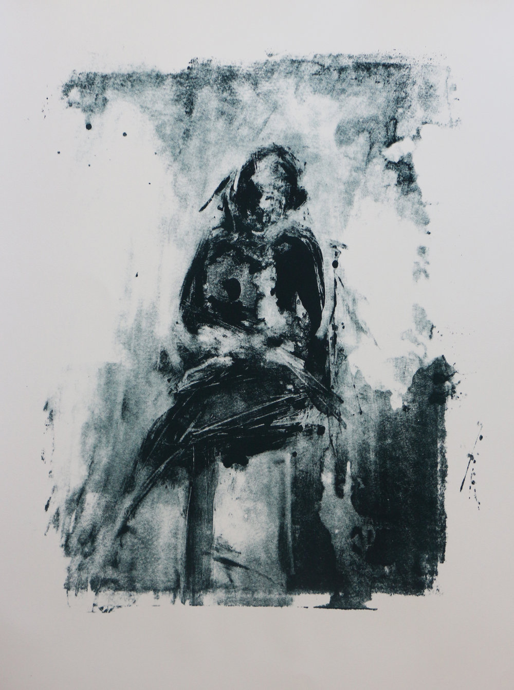 Seated Man 2 - Edition of 15