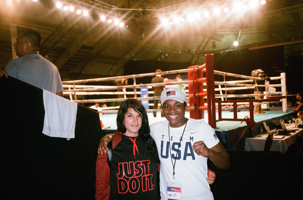 "Olympic gold medalist Claressa ""TREX"" Shields"
