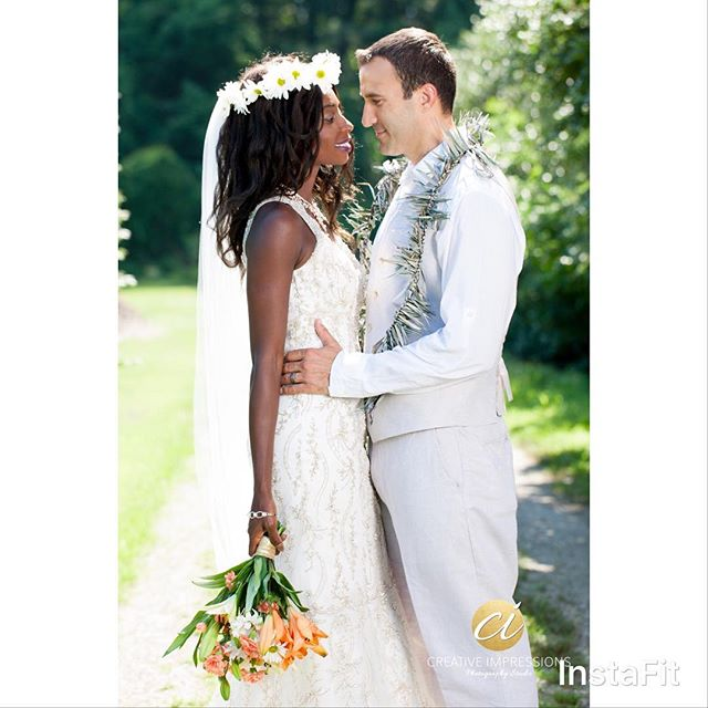 """Love begins in a moment, grows over time, and last for eternity""  #bride #groom #wedding #love #weddingday #brideandgroom #flowers #lei #couple #weddingwire #virginia #bridal #elegant #garden #creativeimpressionsphotographystudio"