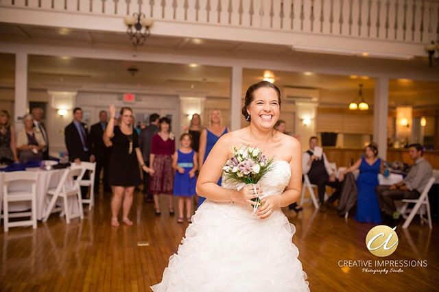 One day of happiness can lead to a lifetime of memories.  #bride #weddingday #weddingwire #theplantersclub #virginiaweddingphotographer #suffolkwedding #bouquet #bouquettoss #smile #happiness #love #amazing #beauty #wedding #newlyweds #creativeimpressionsphotographystudio #Eplingpartyof2
