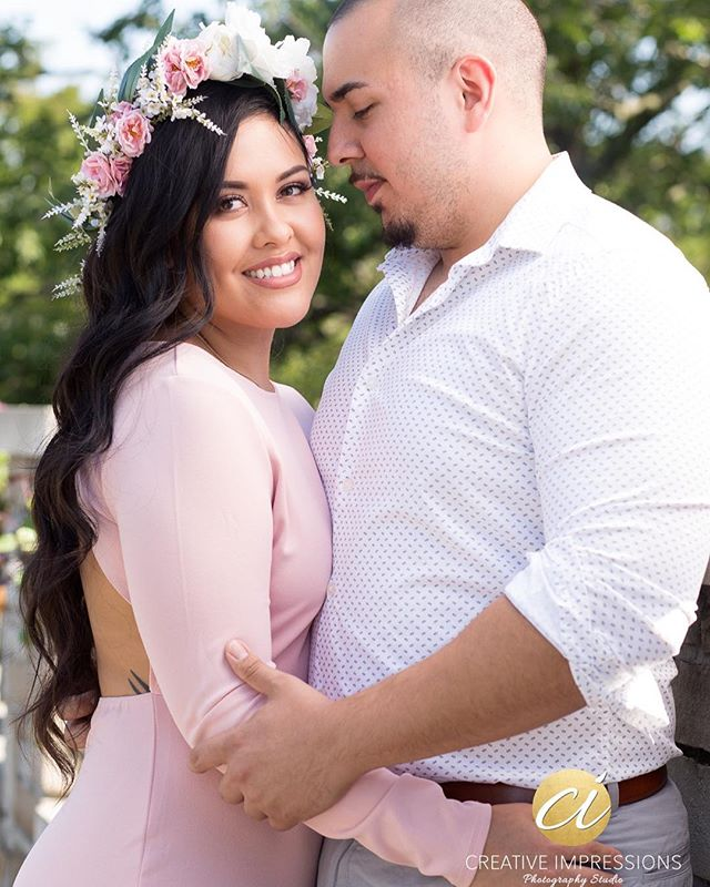The look of happiness!  Congratulations on finding that special someone @margaritalynnn! May @luismexican bring you much happiness in your future together!  #couple #engagement #shesaidyes #love #purelove #romance #engagementring #engagementphotos #beauty #beautiful #bridetobe #groomtobe #norfolkbotanicalgardens #flowers #flowercrown #handmade #creativeimpressionsphotographystudio #hamptonroads #vaphotographer #elrey #vowmagazine #theknot  #weddingwire #bridemagazine