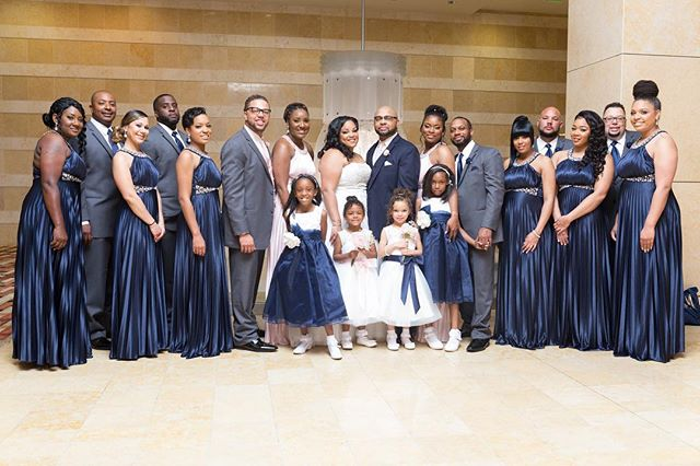 A forever moment shared with family and your closest friends  #wedding #weddingbride #weddinggroom #bridalparty #bridalportrait #family #friends #weddingday #flowergirl #groomsmen #bridesmaids #thewestin #thewestinhotel #thewestinvbtowncenter #towncentervb #virginiabeachwedding #virginiabeach #virginiaweddingphotographer #virginia