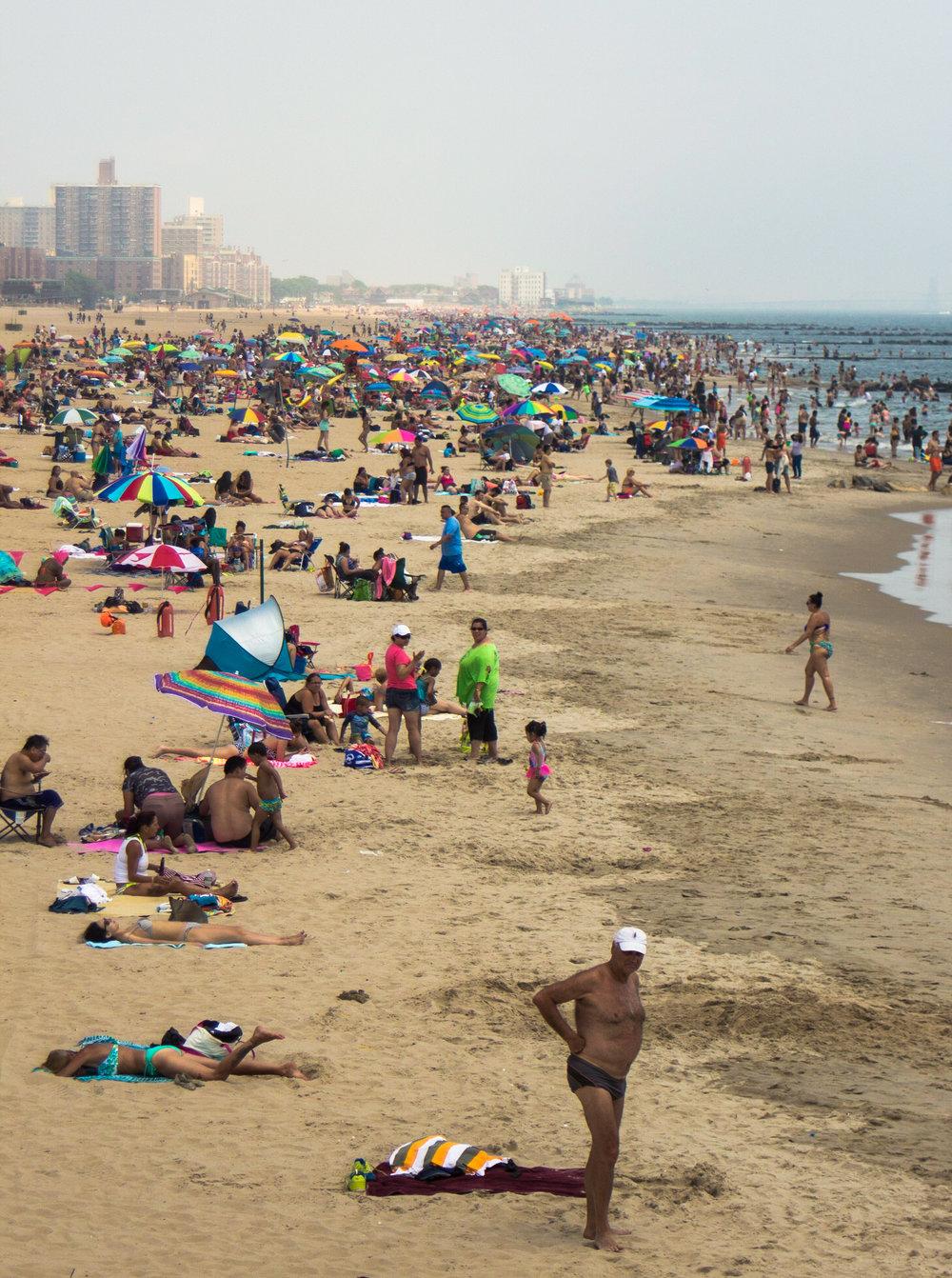 Summer at Coney Island