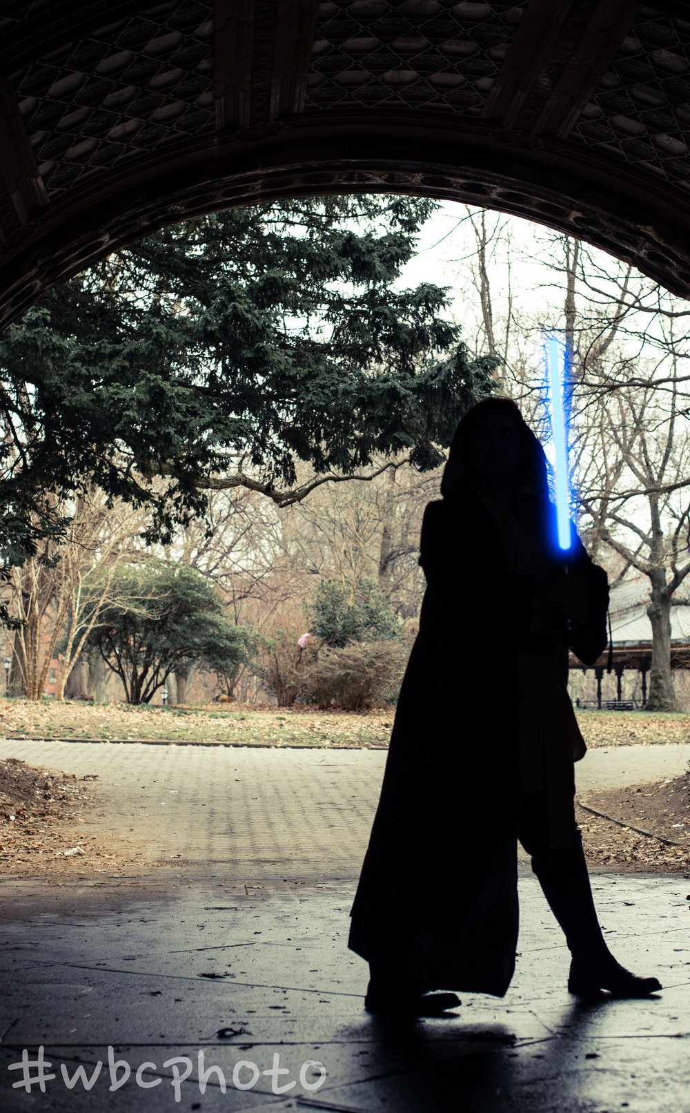 Princess Chris Cosplay does Jedi Knight-WBC Photo