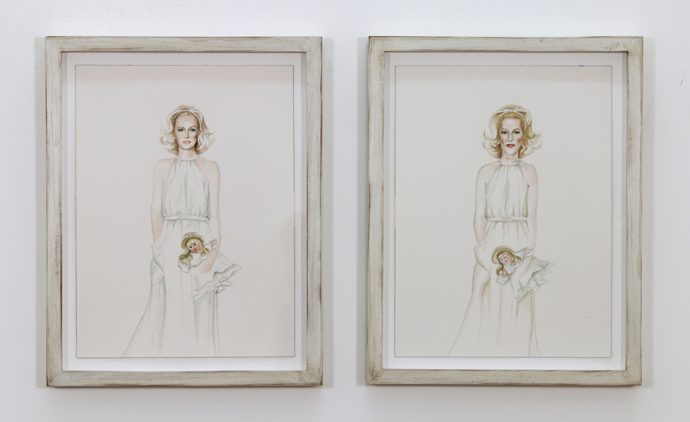 Justin Vivian Bond, My Model MySelf: When My Dollies Have Babies and I'm a Big Lady, 2014. Image courtesy of VITRINE, London