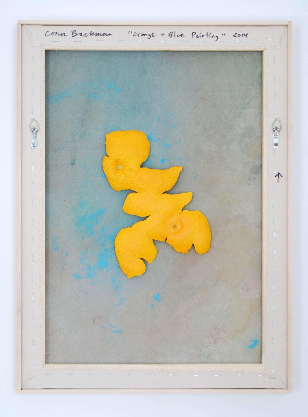Conor-Backman-Orange-Blue-Painting-2014-Oil-on-canvas-over-panel-cast-aquaresin-acrylic-paint-hardware-artists-frame-61-x-45.5cm-24x18ins-.jpg