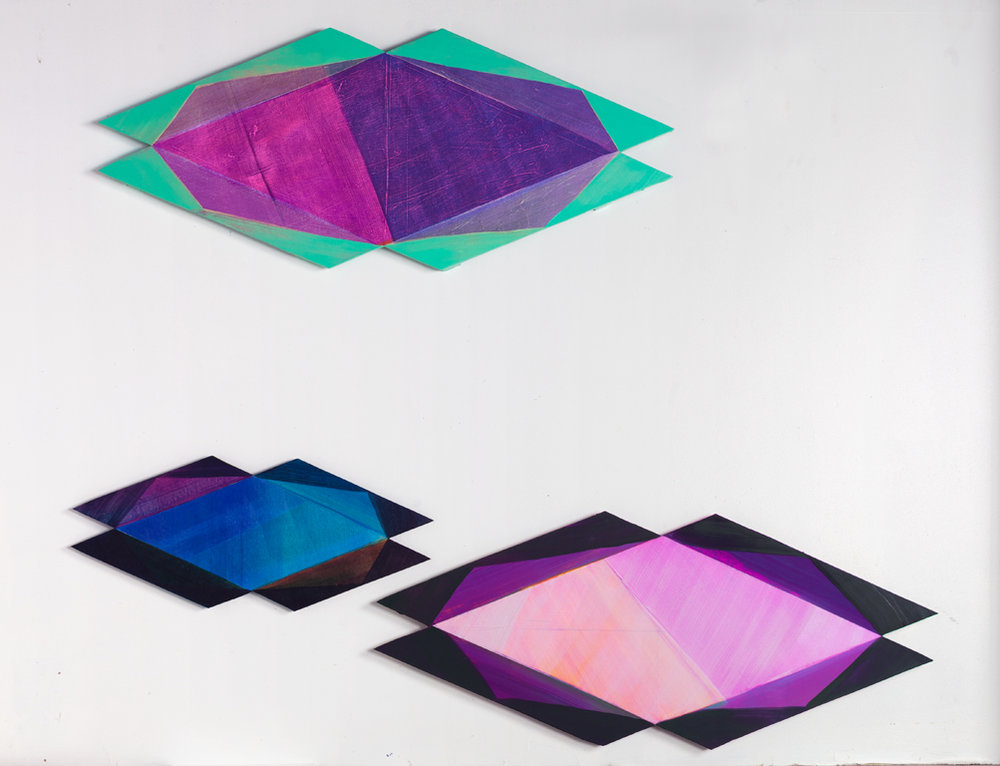 Prism Installation, 2016, 96x60 inches