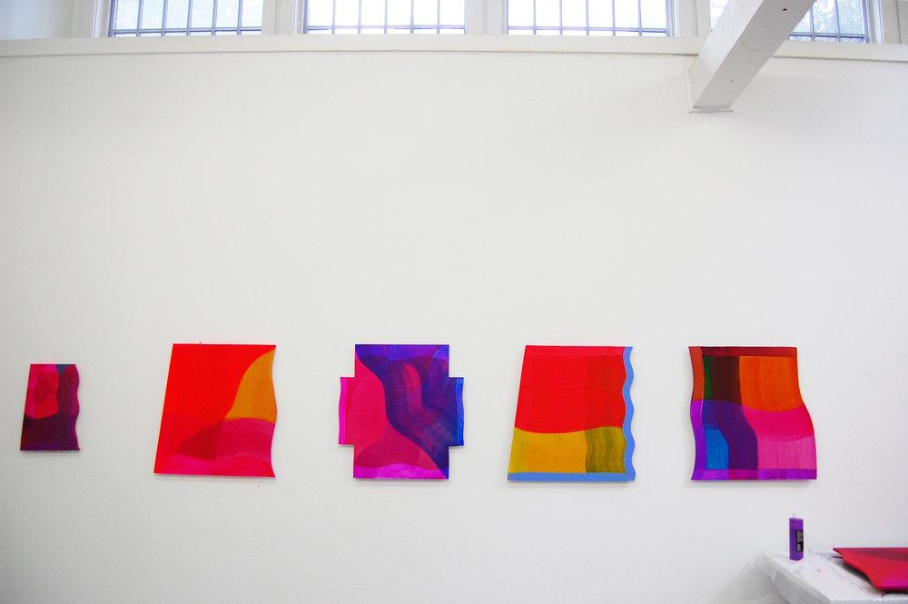 Studio installation, 2016